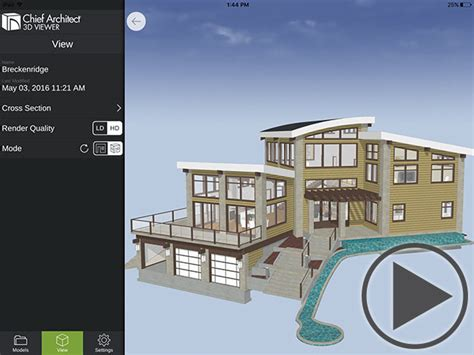 mobile  viewer chief architect