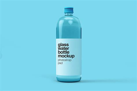 The best source of free bottle mockup psd templates for your project. Free Download Glass Water Bottle Mockup - Designhooks