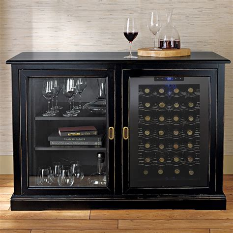 bar cabinet with wine fridge credenza style wine cabinets cabinets matttroy