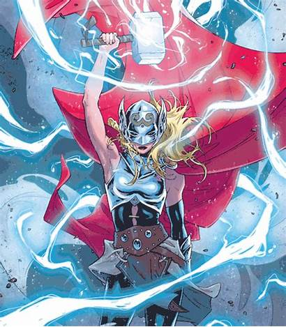 Thor Marvel Comics Female Characters Comic Giphy