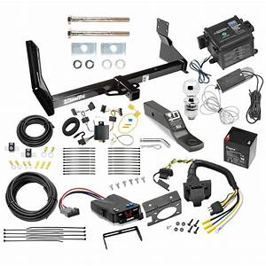 Trailer Hitch And Brake Control Kit For 14