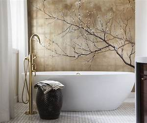 incorporating asian inspired style into modern decor zen With asian themed bathroom decor
