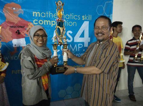 mathematics skill competition iv digelar hmps pendidikan