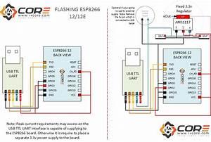 Wiring The Esp8266 12e Remote Soil Moisture Temperature  U0026 Humidity Monitor