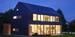 Moderne Häuser Mit Satteldach : satteldach ohne berstand 35 h user pinterest ~ Lizthompson.info Haus und Dekorationen