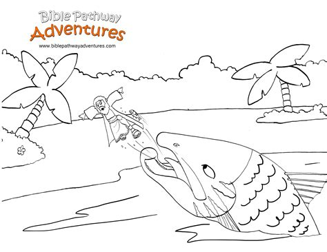 Jonah Coloring Pages 18509