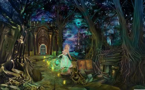 fairytale lady ultra hd desktop background wallpaper