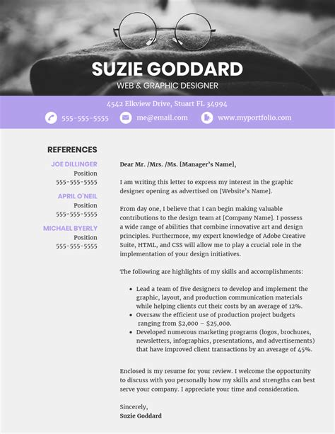 Unique Cover Letter by 20 Cover Letter Templates You Can Customize Tips