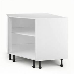 meuble bas angle cuisine With meuble angle cuisine leroy merlin