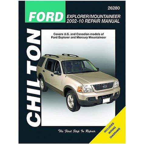 chilton car manuals free download 2002 ford crown victoria electronic toll collection chilton 26280 repair manual 2002 2006 ford explorer northern auto parts
