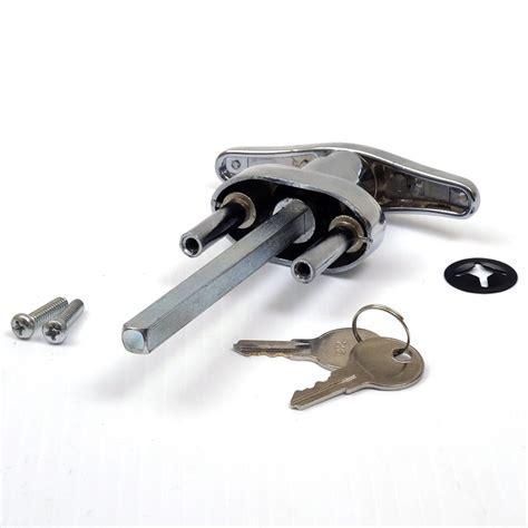 garage door handles buy garage door lock t handle w 2 universal 1191