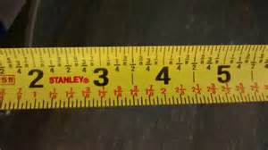 Reading A Tape Measure For Dummies Tape Measure With Strange Number Pattern Tools Diy Chatroom