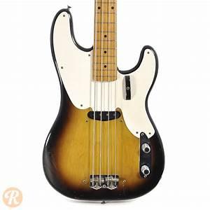 Fender Precision Bass 1956 Sunburst Price Guide