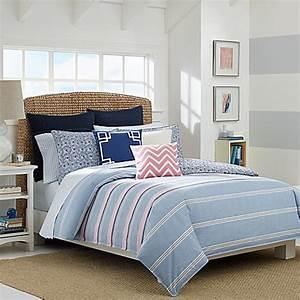 Nautica Destin Reversible Comforter Set In Light Blue