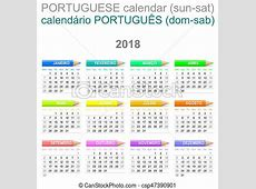 Banco de imagens de português, creions, domingo, versão