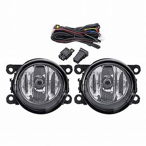 New Car Front Bumper Fog Lights With H11 Lamps Harness