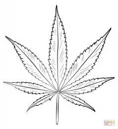 coloriage feuille de cannabis coloriages 224 imprimer