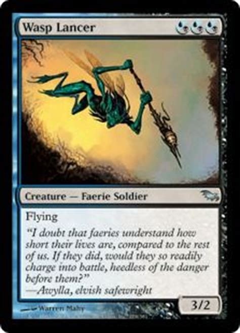 mtg faerie deck list 96 best images about black and blue edh deck on