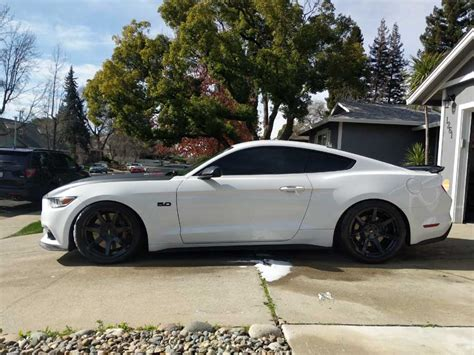 Generation 6 Mustang by 6th Generation White 2016 Ford Mustang Gt Manual For Sale
