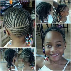 Coiffure Enfant Tresse : tresse africaine enfant coiffure en image ~ Melissatoandfro.com Idées de Décoration