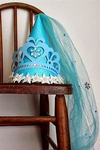 here comes the a cinderella birthday hat for princess