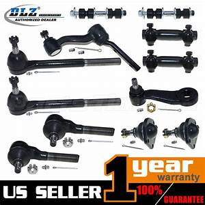 12 Suspension Ball Joint Tie Rod End Kit For 1997