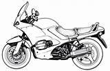 Motorcycle Coloring Yamaha Motorcycles Printable Harley Comfortable Raskrasil sketch template