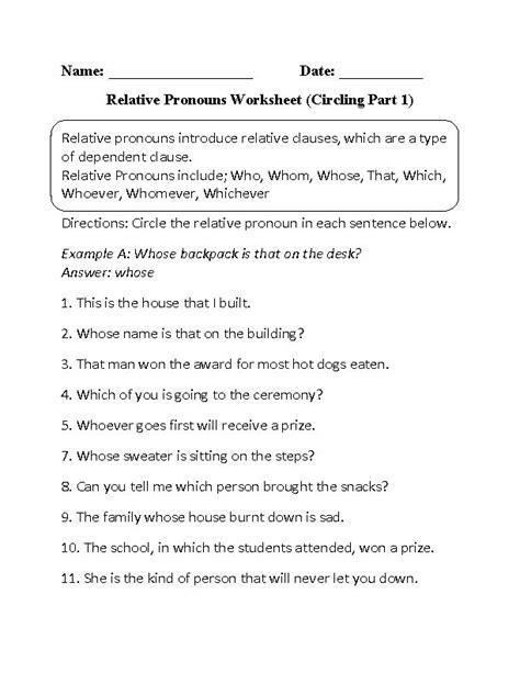 Top 25+ Best Pronoun Worksheets Ideas On Pinterest  Pronoun Activities, Pronoun Words And All