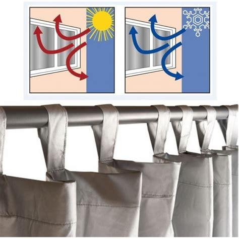 rideau thermique isolant anti froid pour fen 234 tre probache