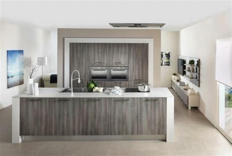 cuisine design italienne avec ilot îlot central de cuisine en 30 idées originales