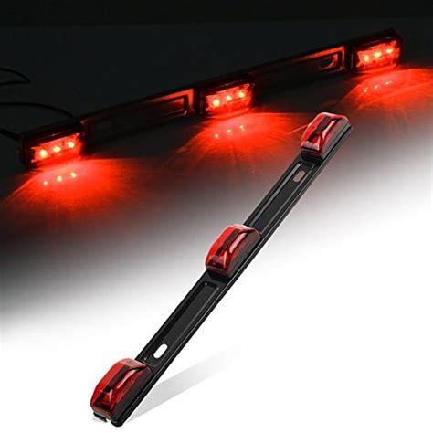 led trailer marker lights partsam clearance id bar marker light 3 light 9 led