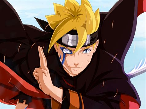 Desktop Wallpaper Boruto Uzumaki, Ready For Fight, Hd