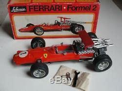 Weitere einzelheiten im angebot des verkäufers. Schuco Ferrari Formel Formula 2 #1073 Vintage Race Car