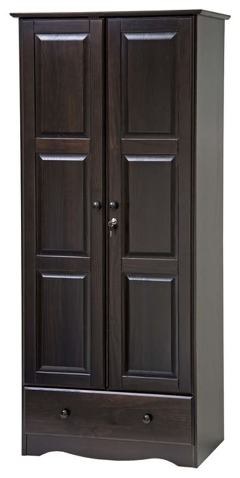 Solid Wood Wardrobe Closet by 100 Solid Wood Wardrobe Armoire Closet