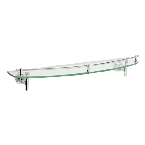 verde  enzo barelli mm glass shelf bunnings warehouse
