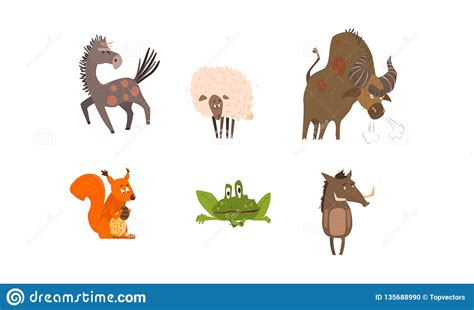 The best gifs are on giphy. Collection Of Funny Farm And Forest Animals, Horse, Sheep ...