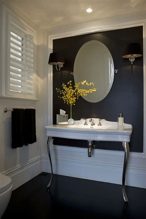 pretty powder rooms images  pinterest