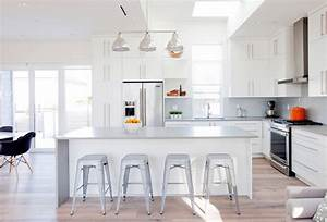 best white kitchen designs arranged with contemporary and trendy decorating ideas looks so magnificent 2279