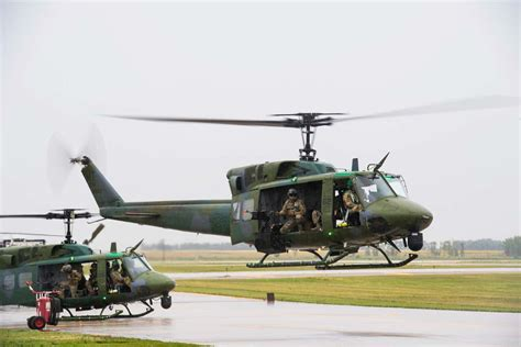 Door Gunners On The Air Forces New Grey Wolf Helicopters