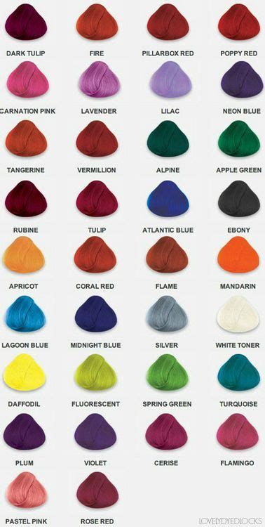 List Of All Hair Colors by 1000 Ideas About List Of Hair Colors On