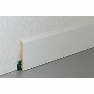 Hauteur Plinthe Carrelage : plinthe parquet et sol stratifi d cor blanc cm x x mm leroy merlin ~ Farleysfitness.com Idées de Décoration