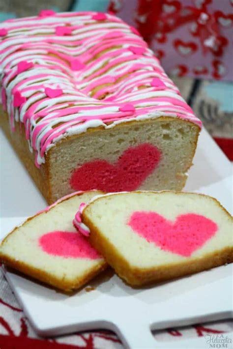 Valentine Heart Strawberry Cakes