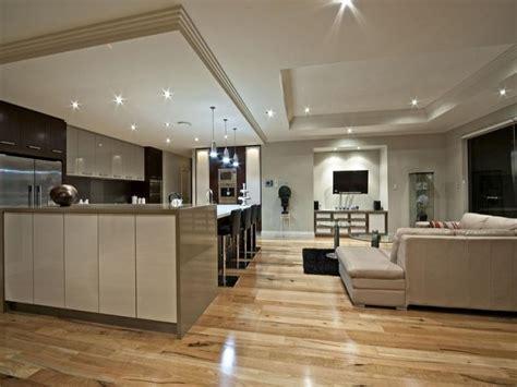 living kitchen design modern kitchen living kitchen design using floorboards 3826