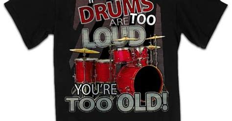 cool t shirts for drummers at drumbum com gifts and gift
