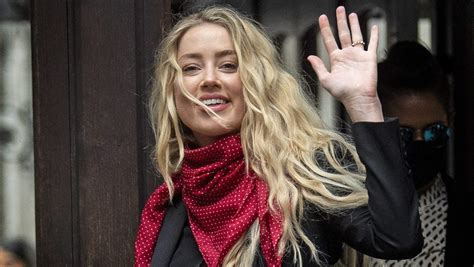 Amber Heard Gives Evidence In Explosive Johnny Depp Trial ...