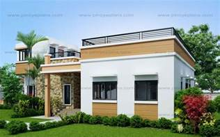 the simple home plan design four bedroom one storey with roof deck shd 2015021