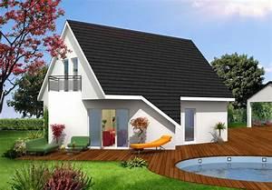 modele maison modele maison lena maison contemporaine With modele plan de maison 1 maison contemporaine modele
