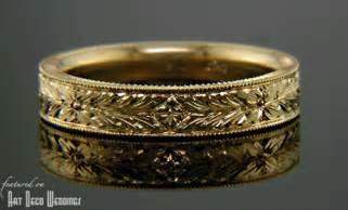 vintage mens wedding rings deco 39 s wedding bands deco weddings