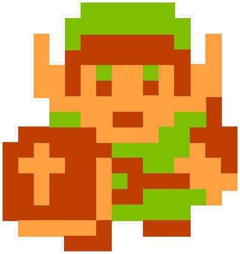 Nintendo Nes 8bit Zelda Link Vinyl Decal Sticker Emblem