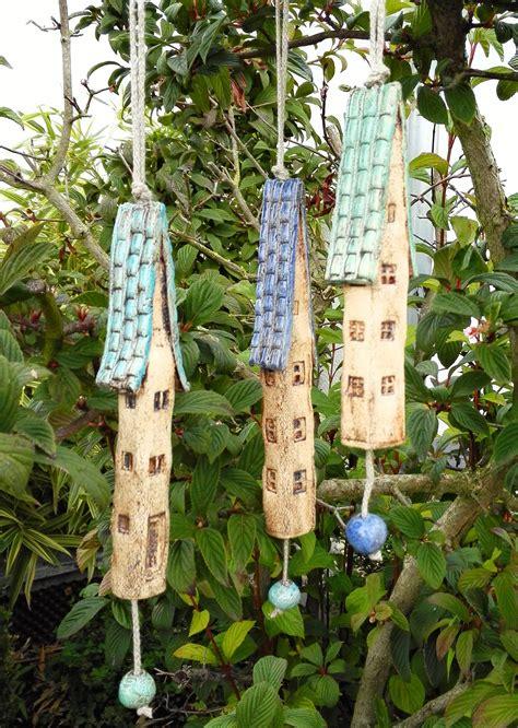 ceramic wind chime bells keramik ideen windspiele und